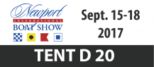 Newport International Boat Show - Balmar Website Front Page Banner