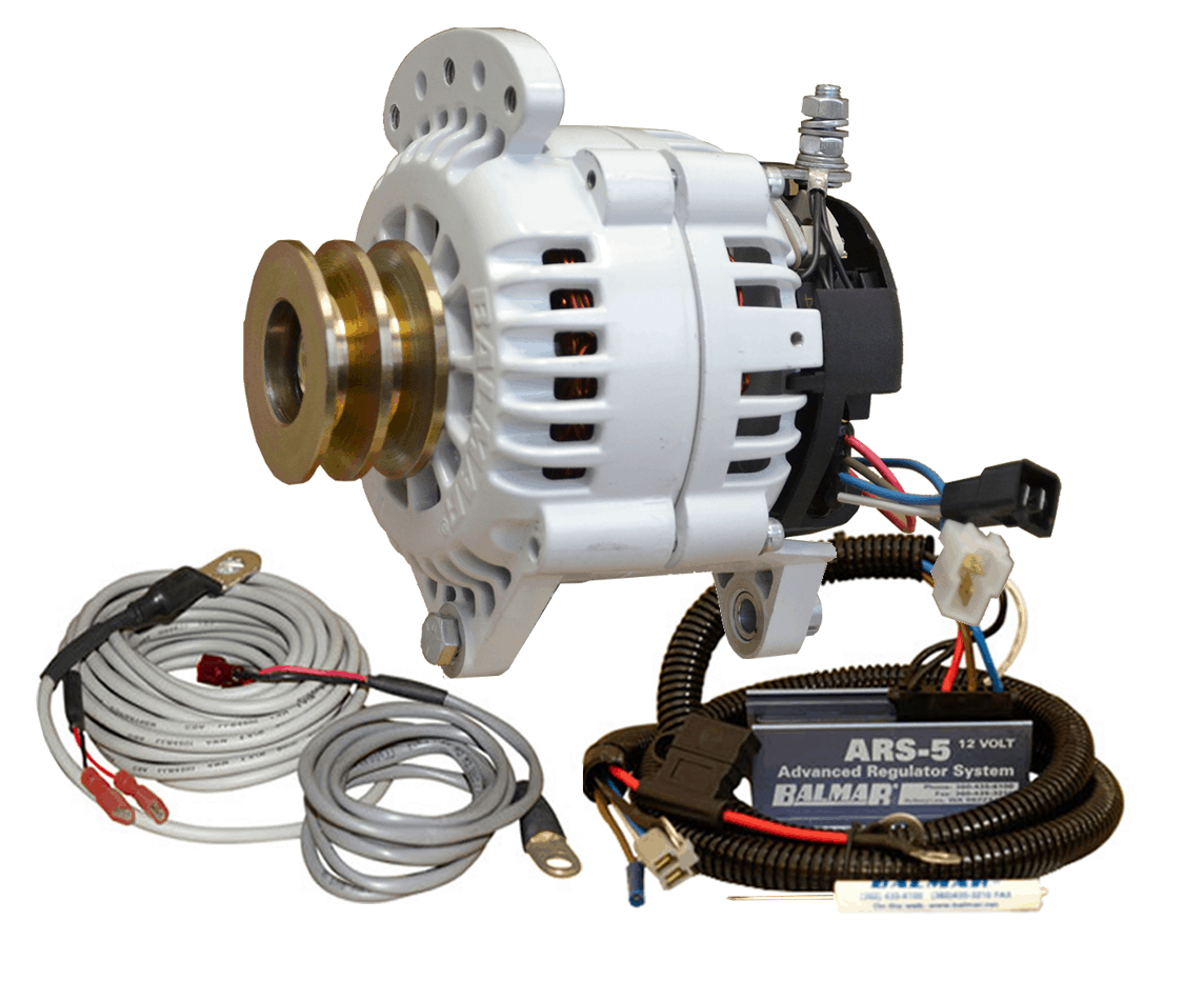 165 Mercruiser Alternator Conversion Kit : Charging kit yp dv