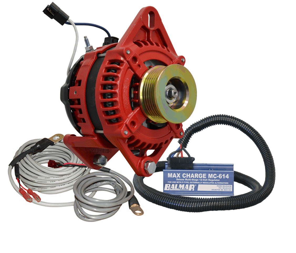 165 Mercruiser Alternator Conversion Kit : Charging kit at df k